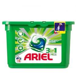 Ariel gel capsule Pods Mountain Spring 15*28ml