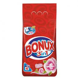 Bonux automat 3in1 Rose 4kg