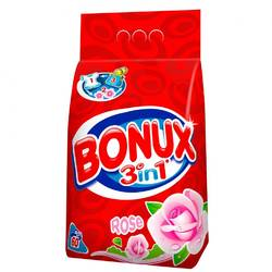Bonux automat 3in1 Rose 6kg