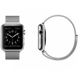 SmartWatch Apple Watch 38 mm Stainless Steel Milanese Loop