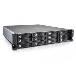 QNAP NAS 12bay, rack 2U, Quad-core Intel Celeron 2.0GHz