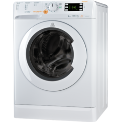 Indesit Masina de spalat cu uscator Innex XWDE 861480X, 1400 RPM, Spalare 8 kg, Uscare 6 kg, Clasa A, 16 Programe, Alb