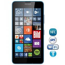 Telefon Mobil Single SIM Microsoft Lumia 640 XL Cyan