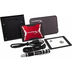 "KINGSTON SSD 480GB, HyperX SAVAGE, SATA3, 2.5"", Bundle package, USB3.0 enclosure, 3.5"" bracket, SATA cable, Hard drive cloning software"