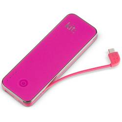 Baterie externa Kit Fashion Universal Power Bank 4500 mAh cu cititor microSD PWR4500PI Pink
