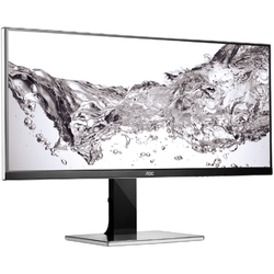 "AOC Monitor LED 34"", Ultra Wide, WQHD, DisplayPort, DVI, VGA, HDMI"
