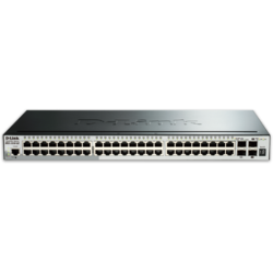 D-Link Switch 52 port, Gigabit Stackable SmartPro
