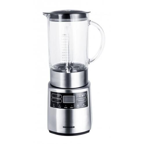 Blender de masa Master Collection HBL-1000XMC, putere maxima: 1000W, display LCD, 5 viteze + functie Pulse, panou de control electronic, design inox