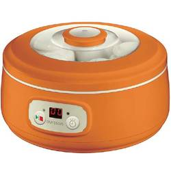 Oursson Iaurtiera FE1502OR, 1 program, capacitate 1 l, afisaj, timer, borcane ceramica