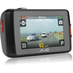 "Camera Auto DVR cu GPS incorporat Mio Mivue 638, 1080p, 2.7"" Touch-screen"
