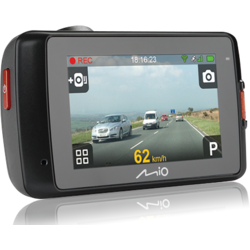 "Camera Auto DVR cu GPS incorporat Mio Mivue 658, WiFi, H.264, 2.7"" Touch-screen"