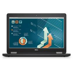 "Laptop Dell Latitude E5550, 15.6"" FHD, Intel Core i7-5600U 2.6GHz Broadwell, 8GB, 1TB, GMA HD 5500, FingerPrint Reader, Linux, Black"