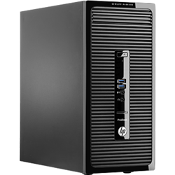 Sistem Desktop HP ProDesk 400 G2 MT, Intel Core i3-4160, Haswell, 4GB, 500GB + Monitor W2072a 20""