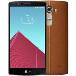 Telefon Mobil Dual SIM LG G4 32GB LTE H818 Leather Brown