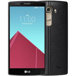 Telefon Mobil Dual SIM LG G4 32GB LTE H818 Leather Black