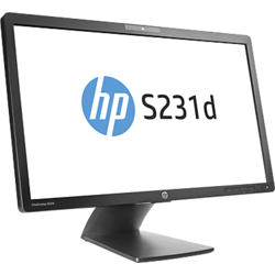 "Monitor LED HP EliteDisplay S231d 23"" 7ms black"