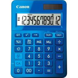 Calculator birou Canon LS123KBL albastru, 12 digiti, ribbon