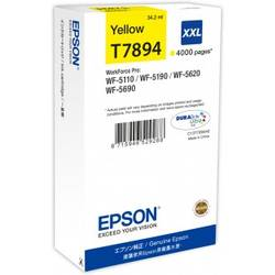 Cartus cerneala Epson T7894, yellow, capacitate 34ml