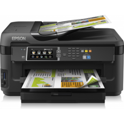 Multifunctional Epson WF-7610DWF, A3, Duplex, ADF, Retea, Wireless