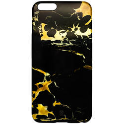 CASE SCENARIO Husa capac black&gold marble pentru apple iphone 6 plus