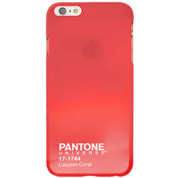 CASE SCENARIO Husa capac pantone calypso coral pentru apple iphone 6 plus