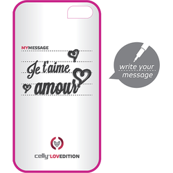 Celly Husa capac clove hidden message pentru apple iphone 4, iphone 4s