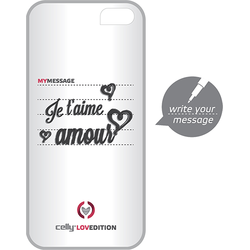 Celly Husa capac clove hidden message pentru apple iphone 5, iphone 5s