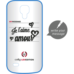Celly Husa capac clove hidden message pentru samsung galaxy s4 mini
