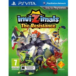 Sony Joc Invizimals: The Resistance pentru Playstation Vita