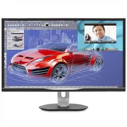 "Philips Monitor LED BDM3270QP, 32"", QHD, DisplayPort, VGA, DVI, HDMI, Negru"