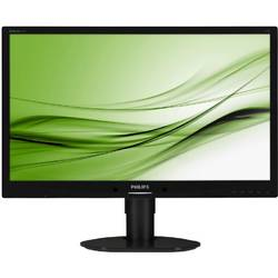"Philips Monitor LED 241B4LPYCB, 24"", Full HD, DVI, 5ms, boxe, negru"
