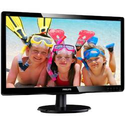 "Philips Monitor LED 220V4LSB/00, 22"", DVI-D, VGA, 5ms"