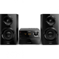 Philips Microsistem audio BTM2360/12, Bluetooth, 70 W, negru
