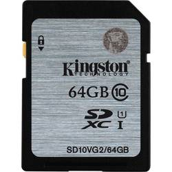 Secure Digital Card Kingston 64GB SDXC, Clasa 10,UHS-I