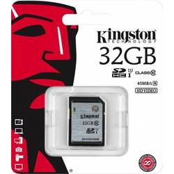 Secure Digital Card Kingston 32GB SDHC, Clasa 10, UHS-I