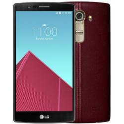 Telefon Mobil Dual SIM LG G4 32GB LTE H818 Leather Red