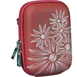 Husa foto Rivacase 7023 PU, Red Flowers