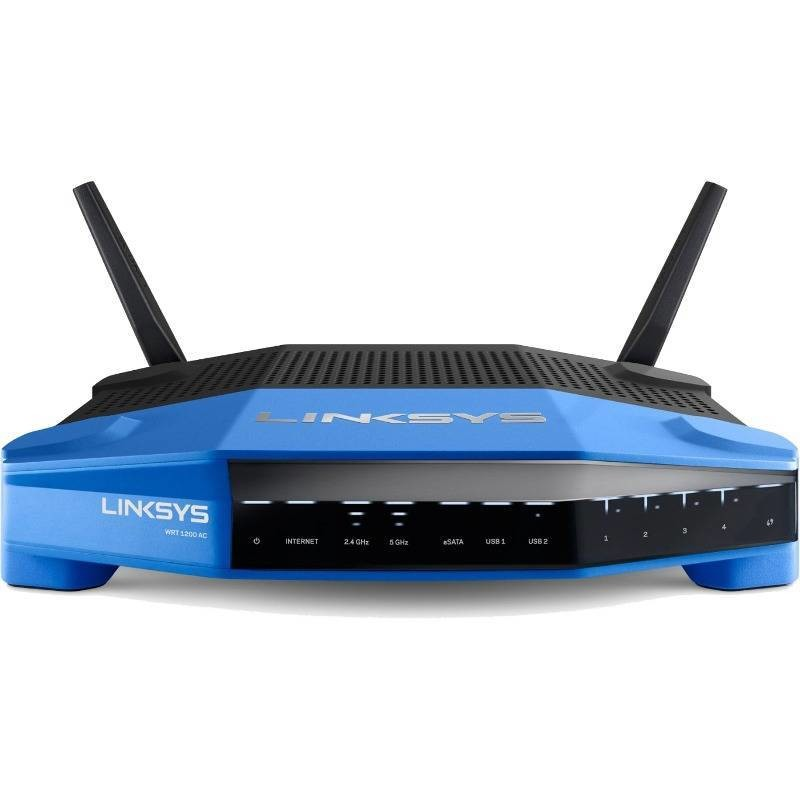 Router Wireless Linksys Gigabit Wrt1200ac, Dual-band