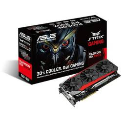 Placa video ASUS Radeon R9 390X STRIX OC 8GB DDR5 512-bit, Cooling Dual Slot Fansink