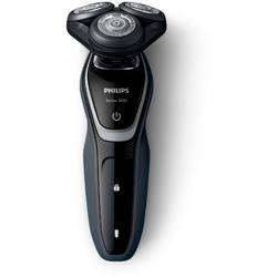 Philips Aparat de ras S5110/06, lame Multiprecision, LED, acumulator, 3 capete, rotire in 5 directii, trimmer, negru