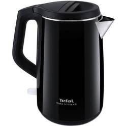 Tefal Fierbator Safe to Touch Black KO3708, 2400 W, 1.5 l, negru