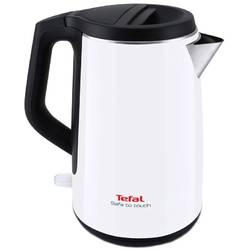 Tefal Fierbator Safe to Touch KO3701, 2400 W, 1.5 l, alb