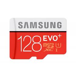 Micro Secure Digital Card Samsung, 128GB, MB-MC128DA/EU, Clasa 10, UHS- I, adaptor