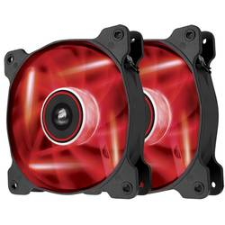 Ventilator / radiator Corsair Air Series SP140 LED Red High Static Pressure 140mm Fan Twin Pack