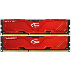 TEAM GROUP Memorie TeamGroup Vulcan Red 8GB DDR3 2400MHz CL11 1.65v