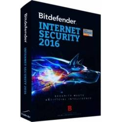 Licenta antivirus retail Bitdefender Internet Security 2016, 1 AN, 1 calculator