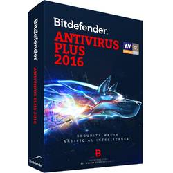 Licenta antivirus retail Bitdefender Antivirus Plus 2016, 1 AN, 3 calculatoare