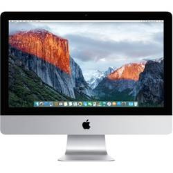 "Apple Sistem Desktop All-In-One iMac 21.5"", Full HD, Procesor Intel Dual Core i5 1.60GHz, Broadwell, 8GB, 1TB, Intel HD Graphics 6000, OS X El Capitan, INT KB"