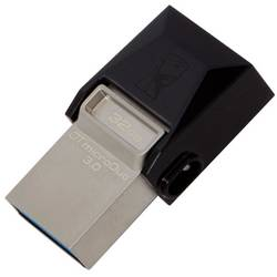 Memorie externa Kingston DataTraveler microDuo 3C 32GB USB 3.1