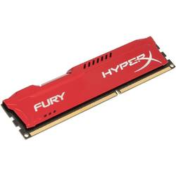 KINGSTON Memorie HyperX Fury Red 4GB DDR3 1333 MHz CL9